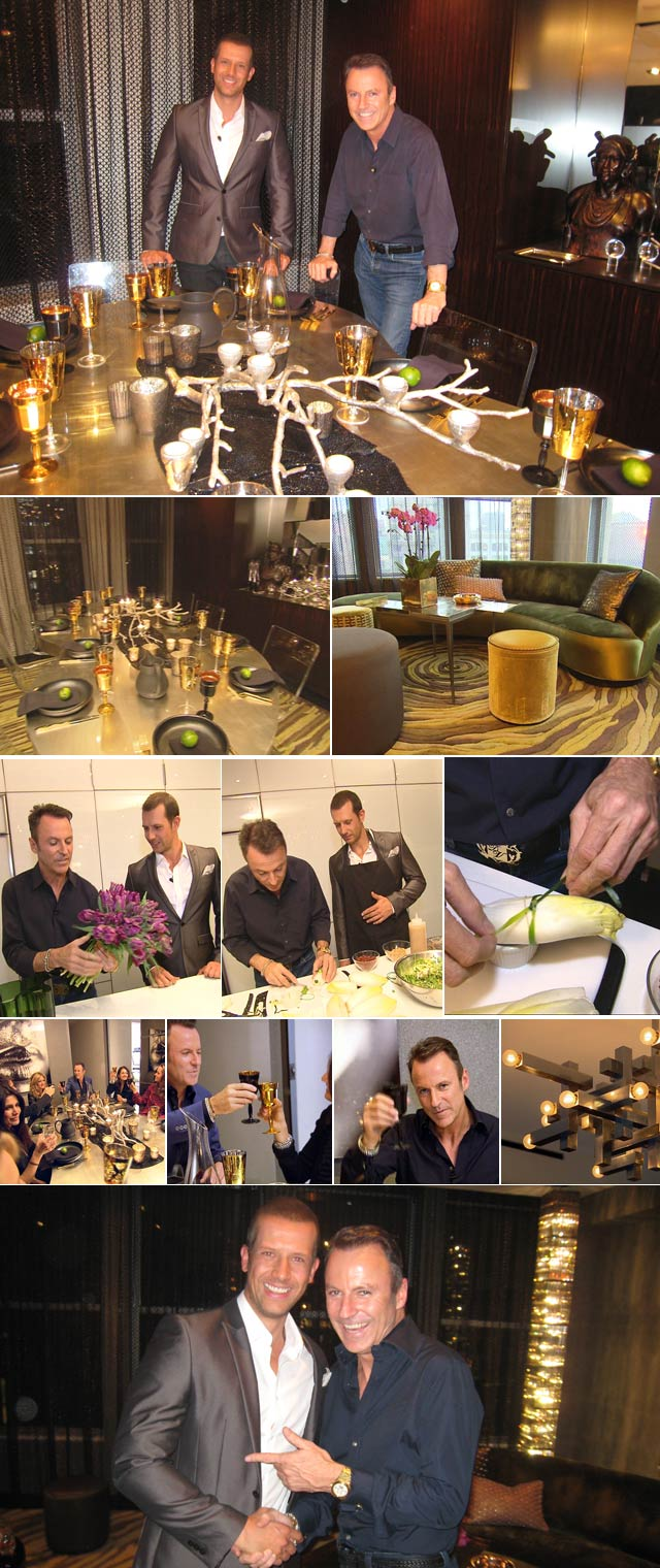 Colin Cowie Colin Cowie Entertains In His New York Penthouse