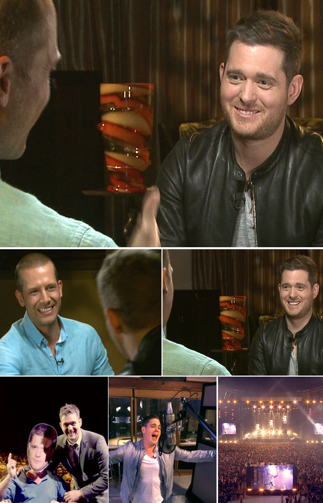 Top Billing interviews Michael Bublé