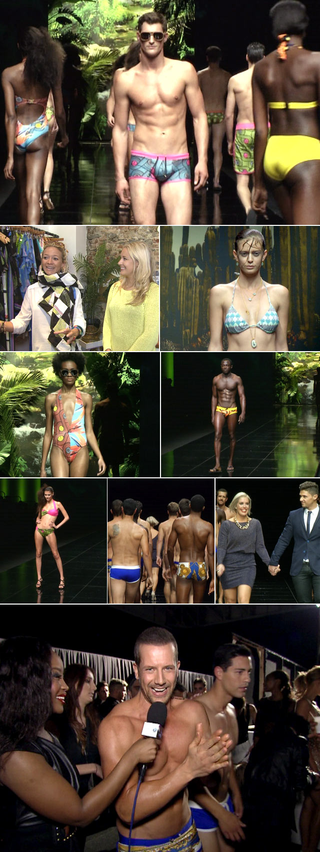 Swimwear fashion at Cape Town Fashion Week