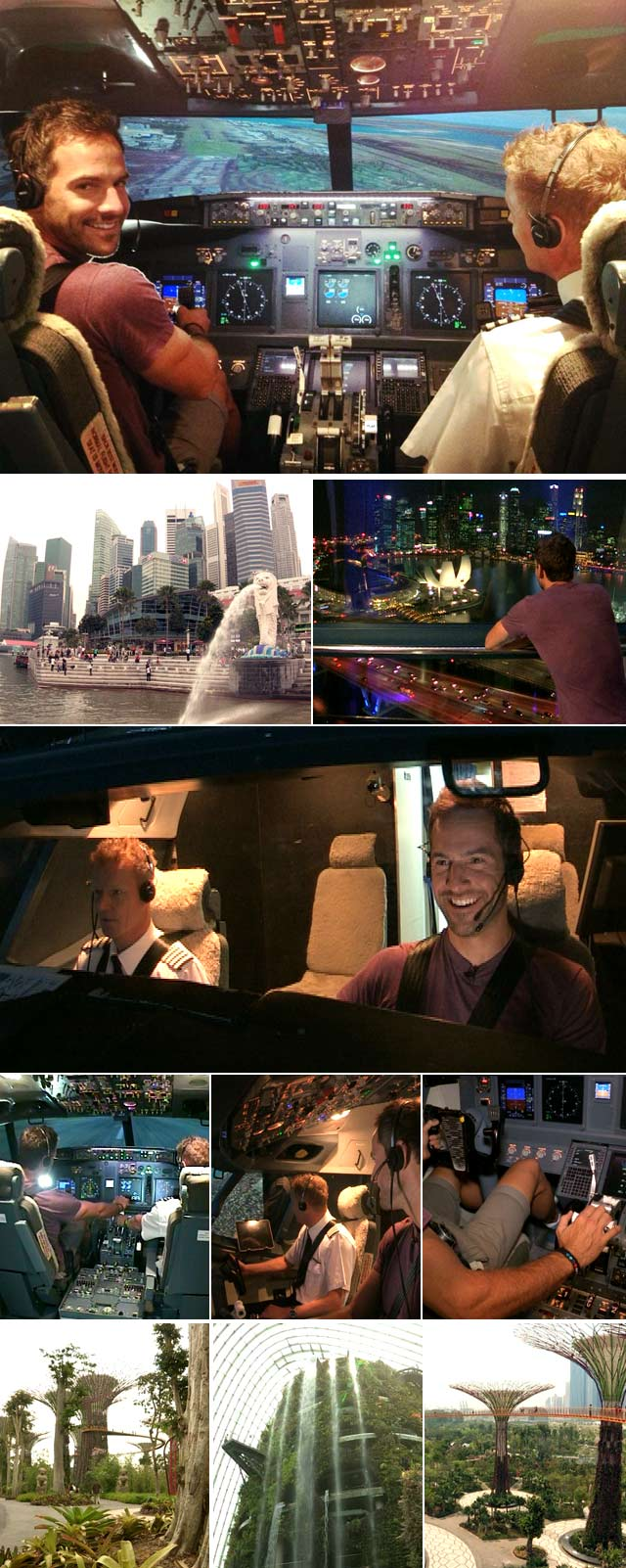 Top Billing travels to Singapore 1