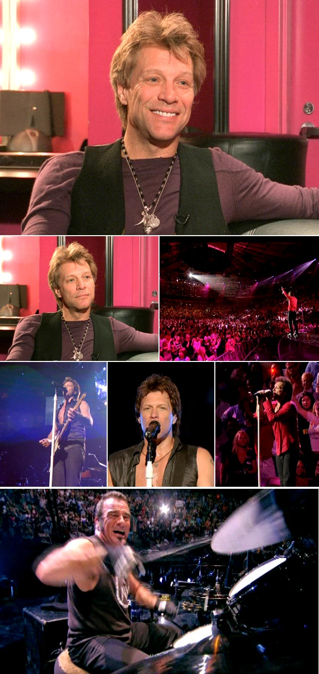 jon Bon Jovi interviewed on Top Billing