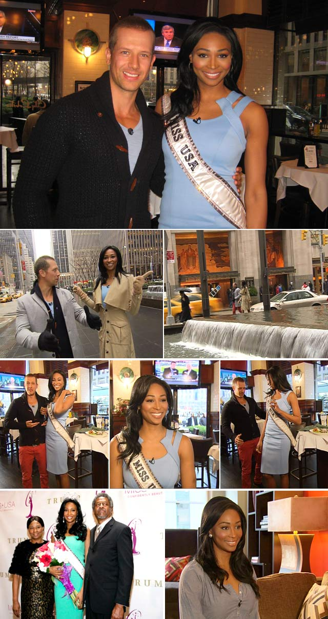 Top Billing meets Miss USA