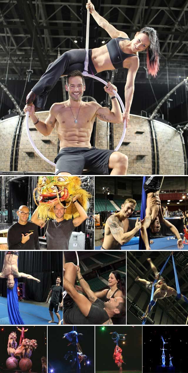 Top Billing goes behind the scenes of Cirque du Soleil