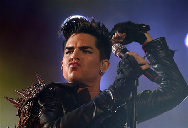 Adam Lambert on Top Billing