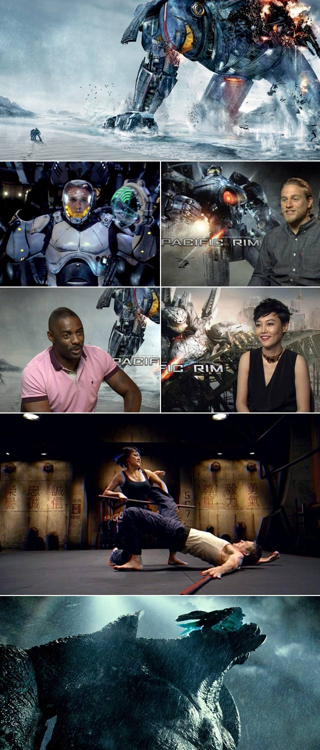 Jonathan meets the cast of Pacific Rim