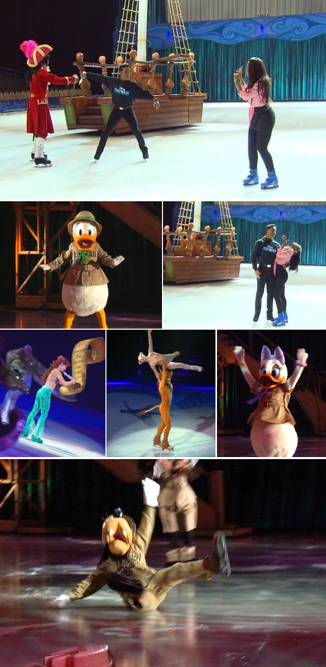 Behind the scenes of Disney on Ice