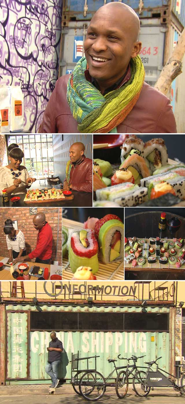 Vusi Kunene chats about his passion for sushi