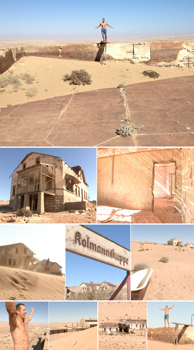 Top Billing explores Kolmanskop ghost town in Namibia