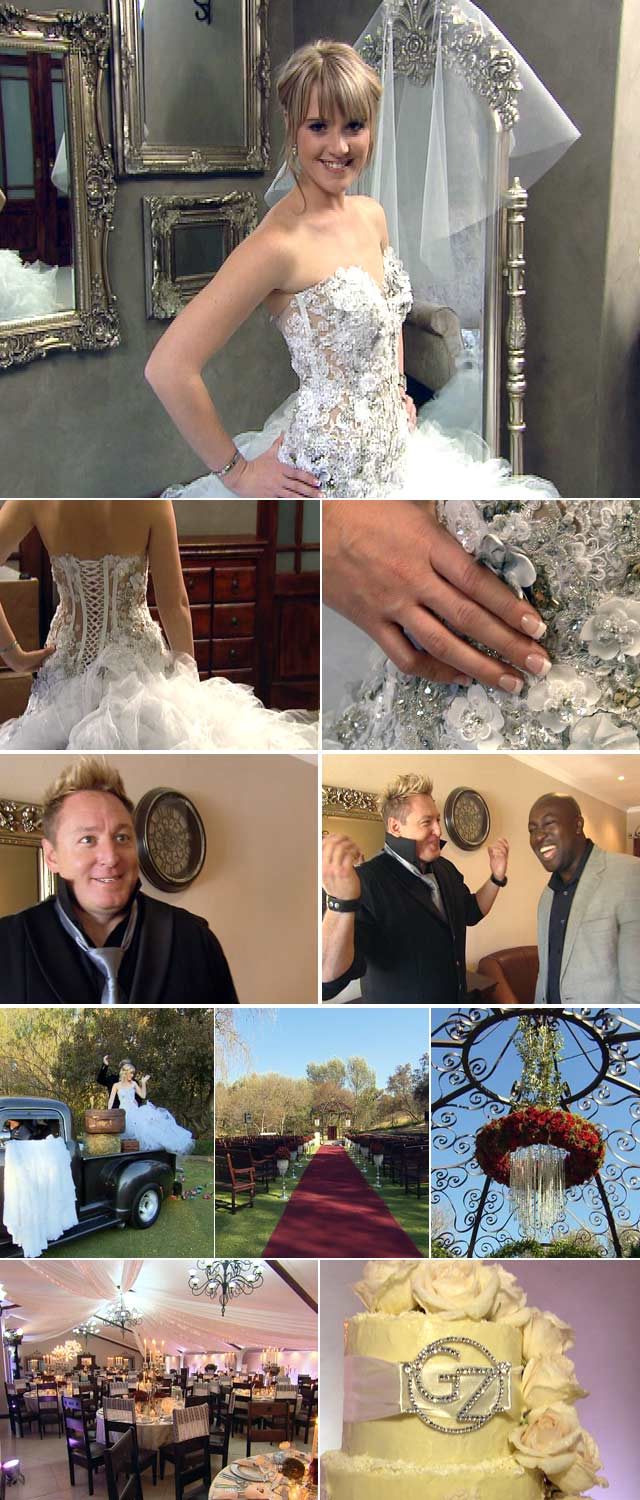 Gerhard Steyn wedding on Top Billing