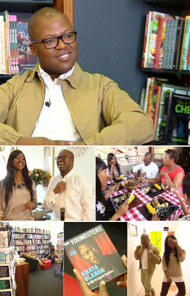 Top Billing interviews Khaya Dlanga