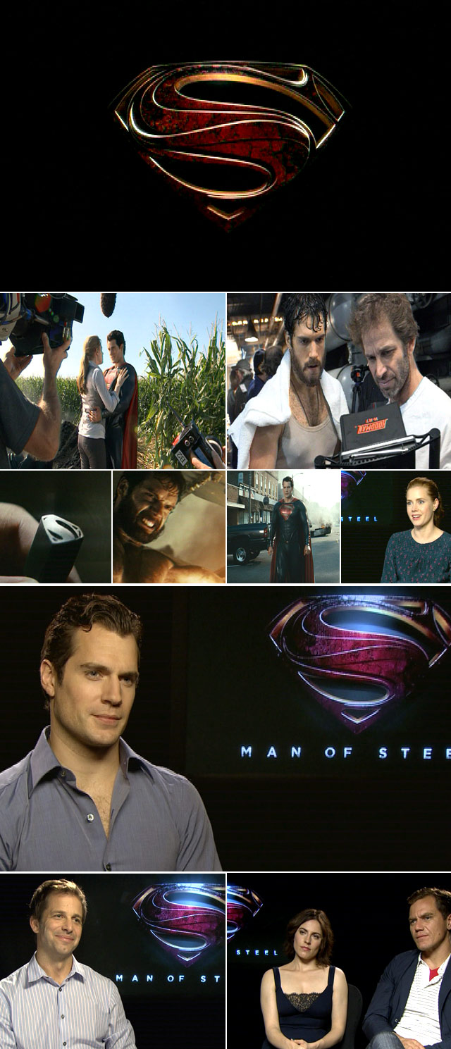 Top Billing interviews the cast of Man of Steel