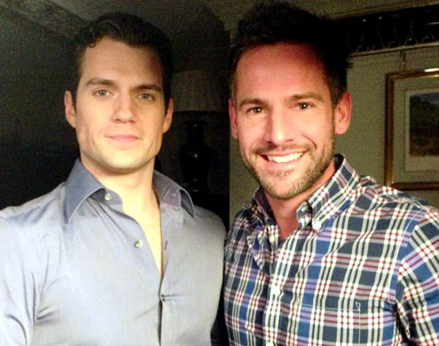 Janez and Henry Cavill