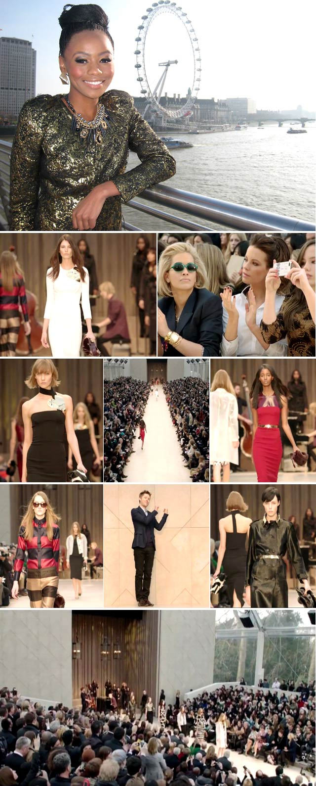 Top Billing interviews Burberry at London Fashion Week