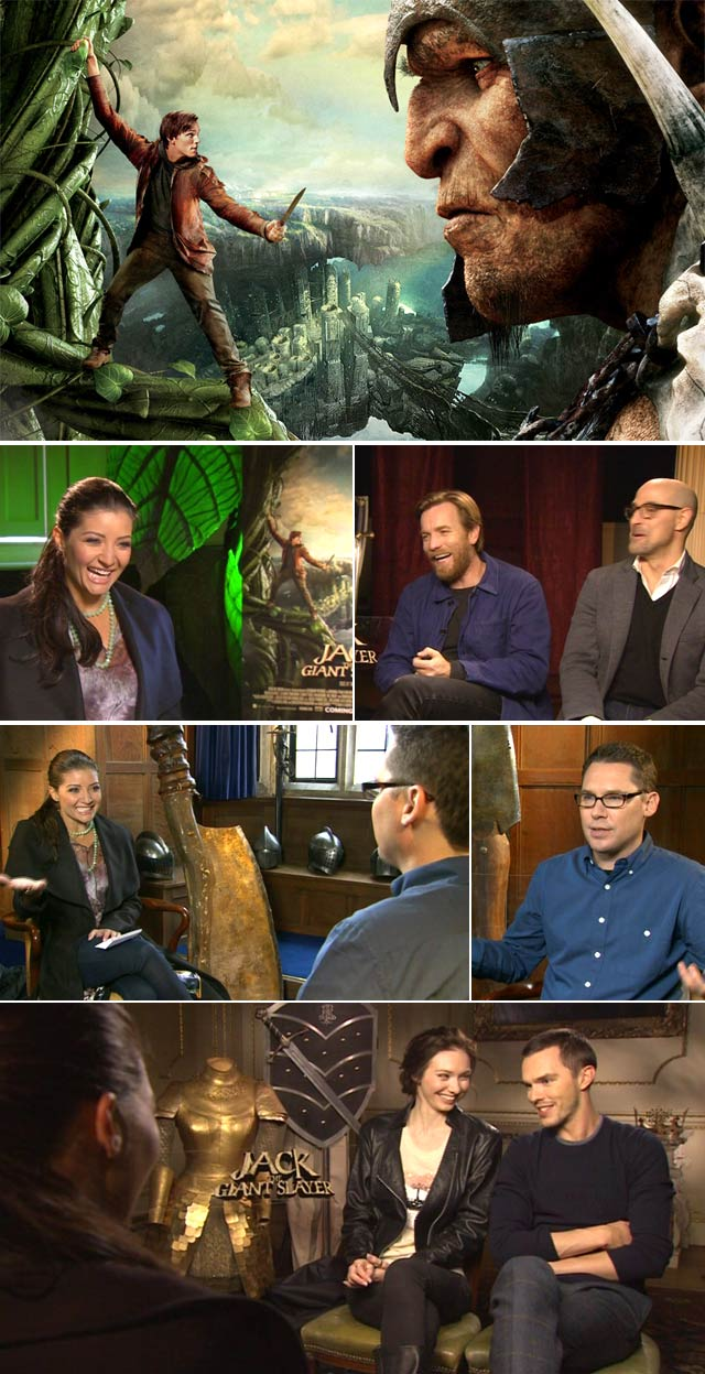 Top Billing interviews the cast of Jack the Giant Slayer