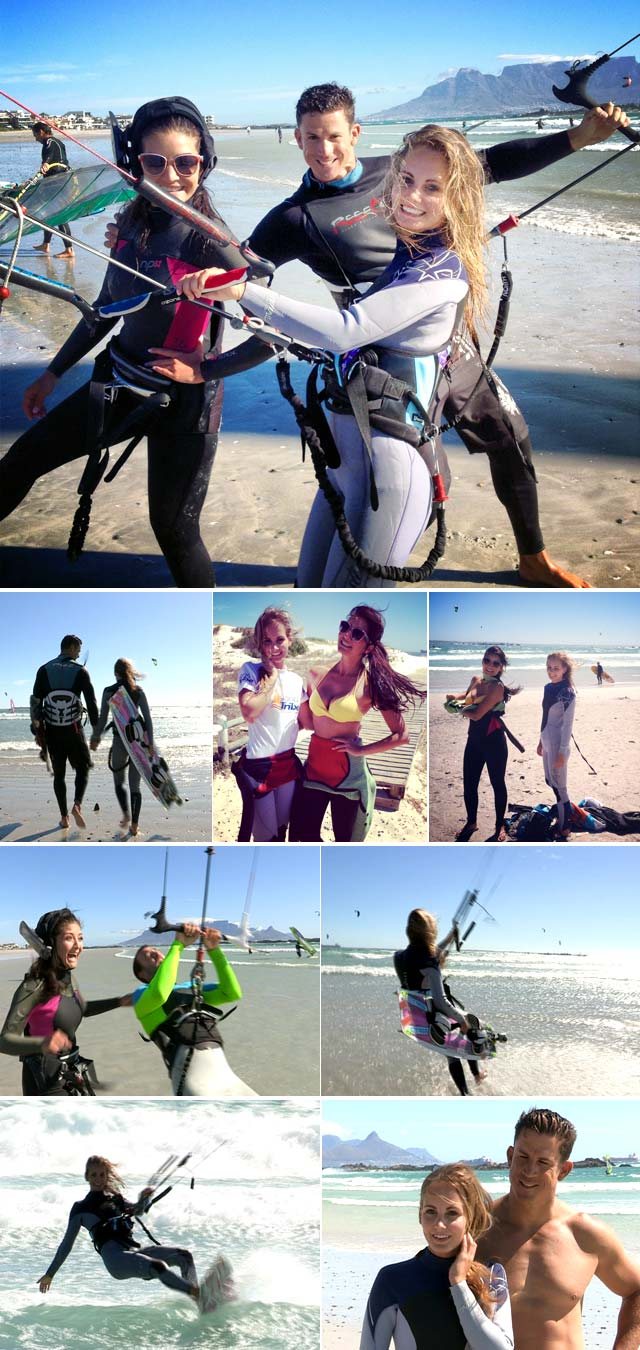 Top Billing goes kiteboarding with Michelle Sky Smith