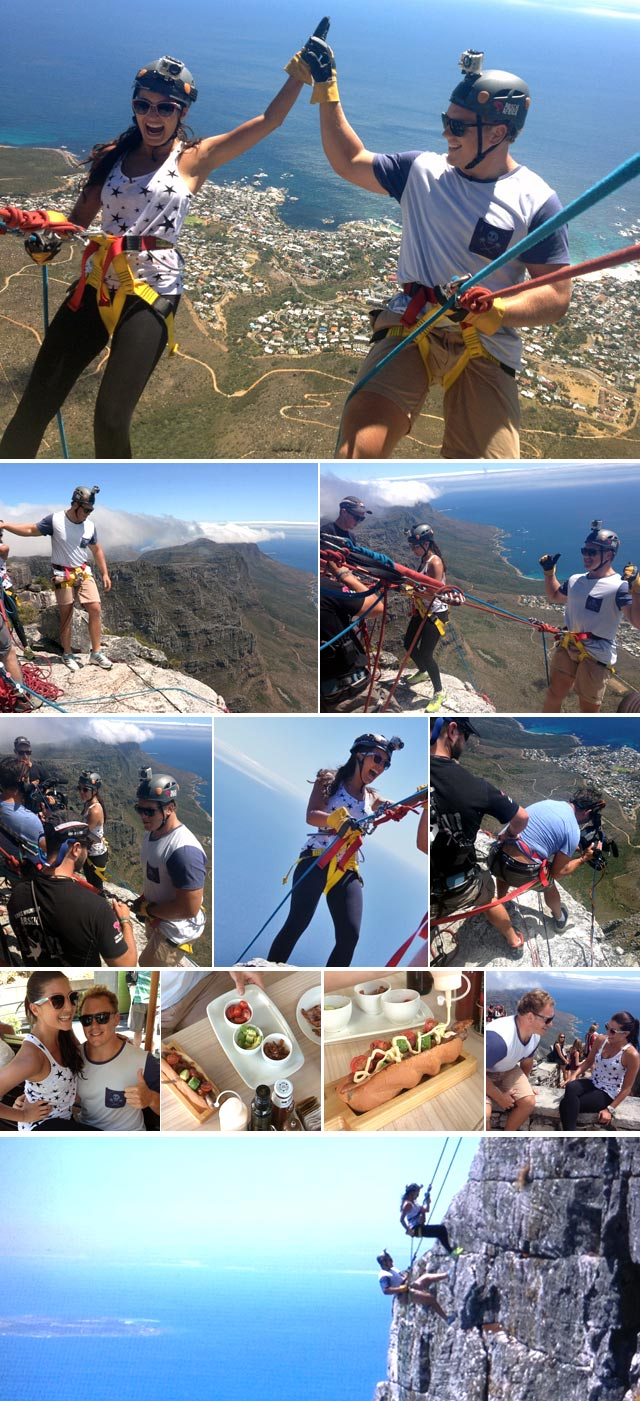 Top Billing goes abseiling with Pat Cilliers