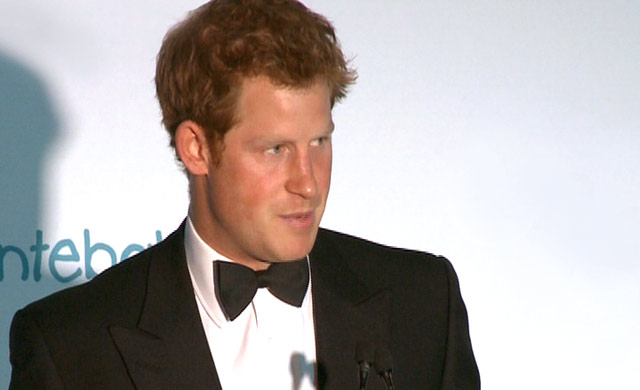 Prince Harry and his charity Sentebale on Top Billing