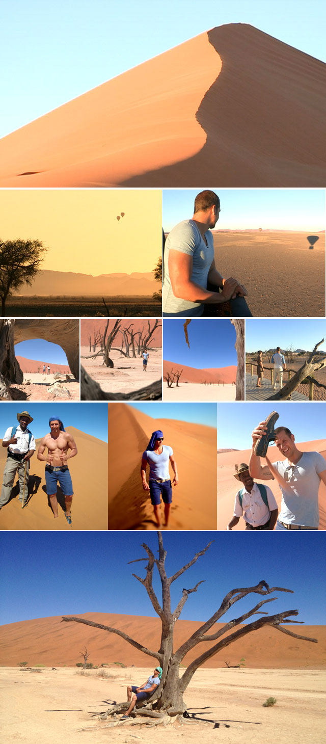 Top Billing travels to Namibia
