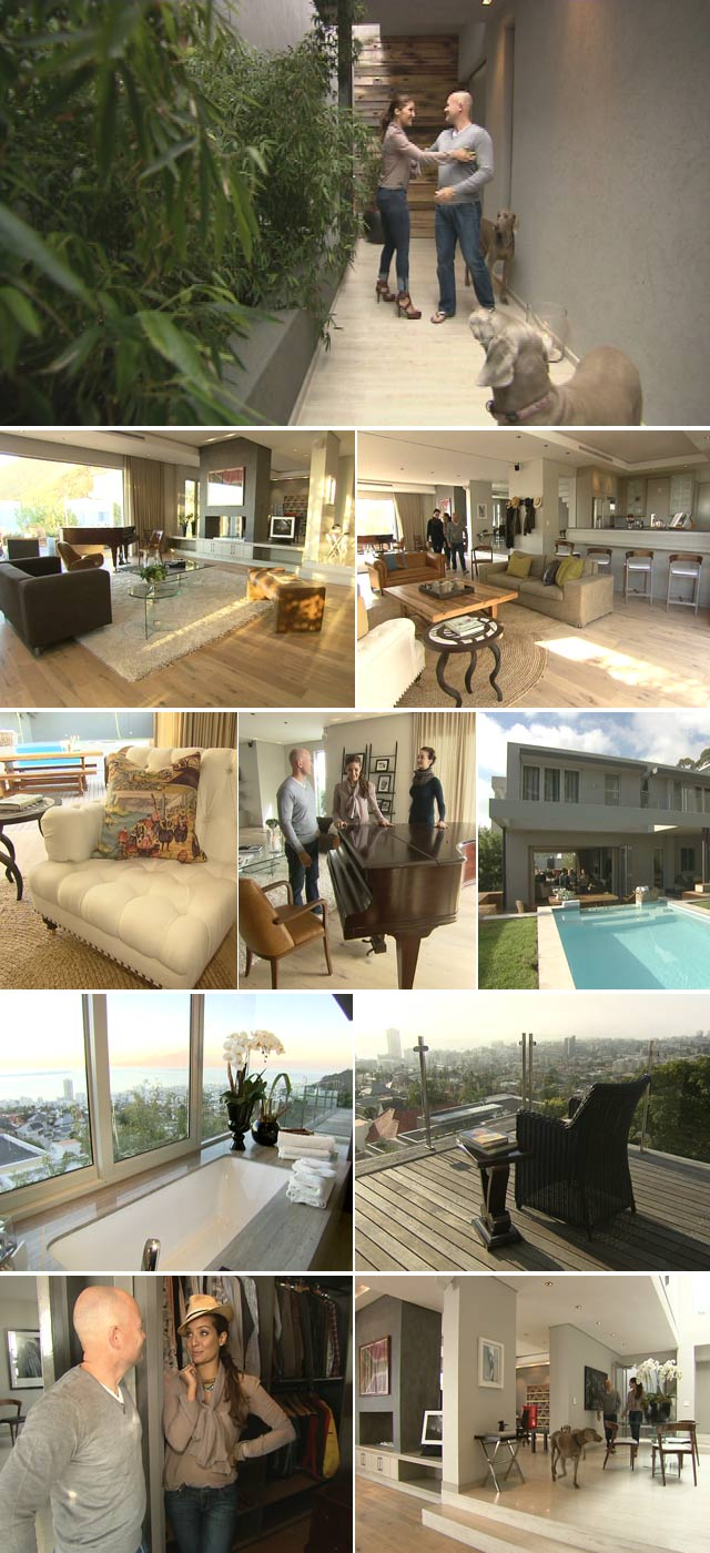 Top Billing features home bachelor pad in Cape Town