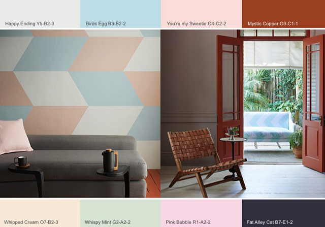 Plascon colour trends 2014 Calm Contrast