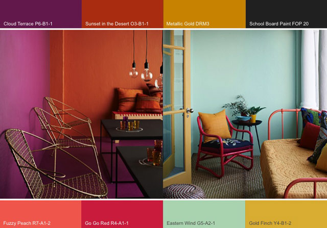 Colour trends Urban Tribe