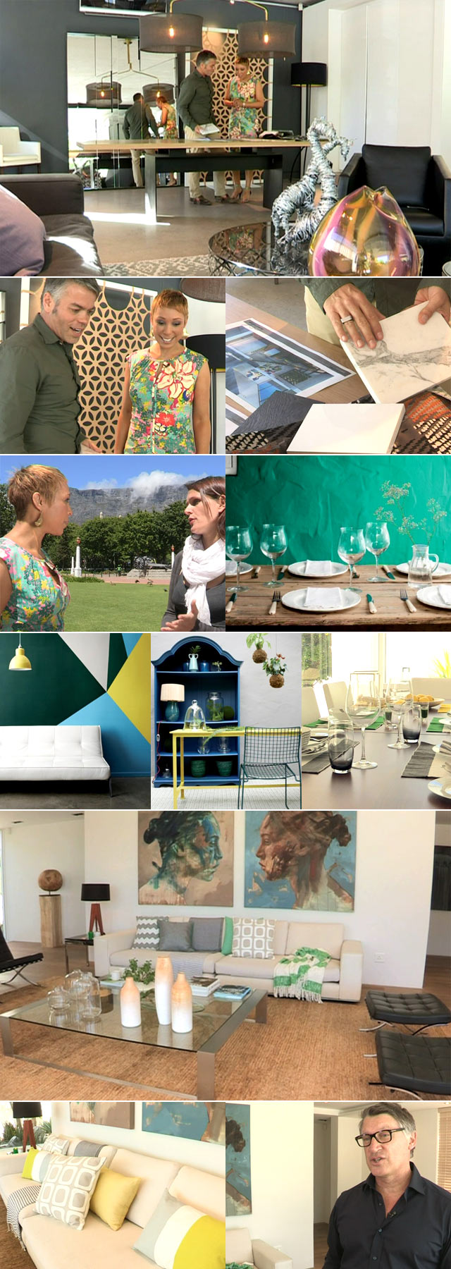 Decor trends and the colour pallet for the Top Billing Dream Home