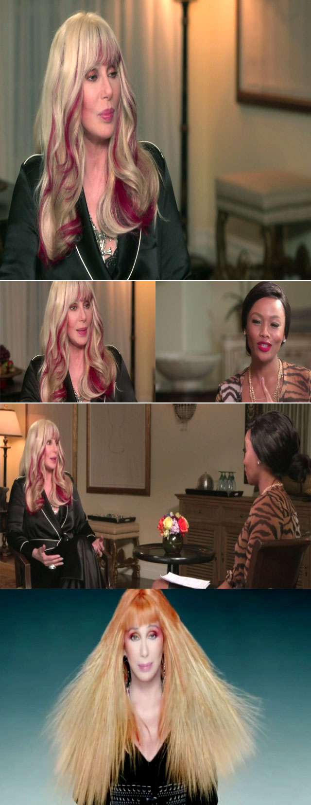 Top Billing interviews Cher