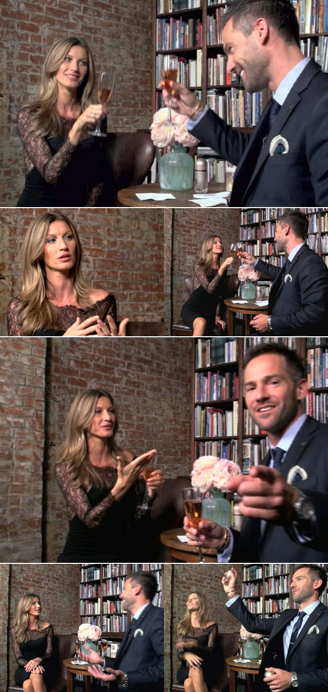 Top Billing meets supermodel Gisele Bündchen in New York