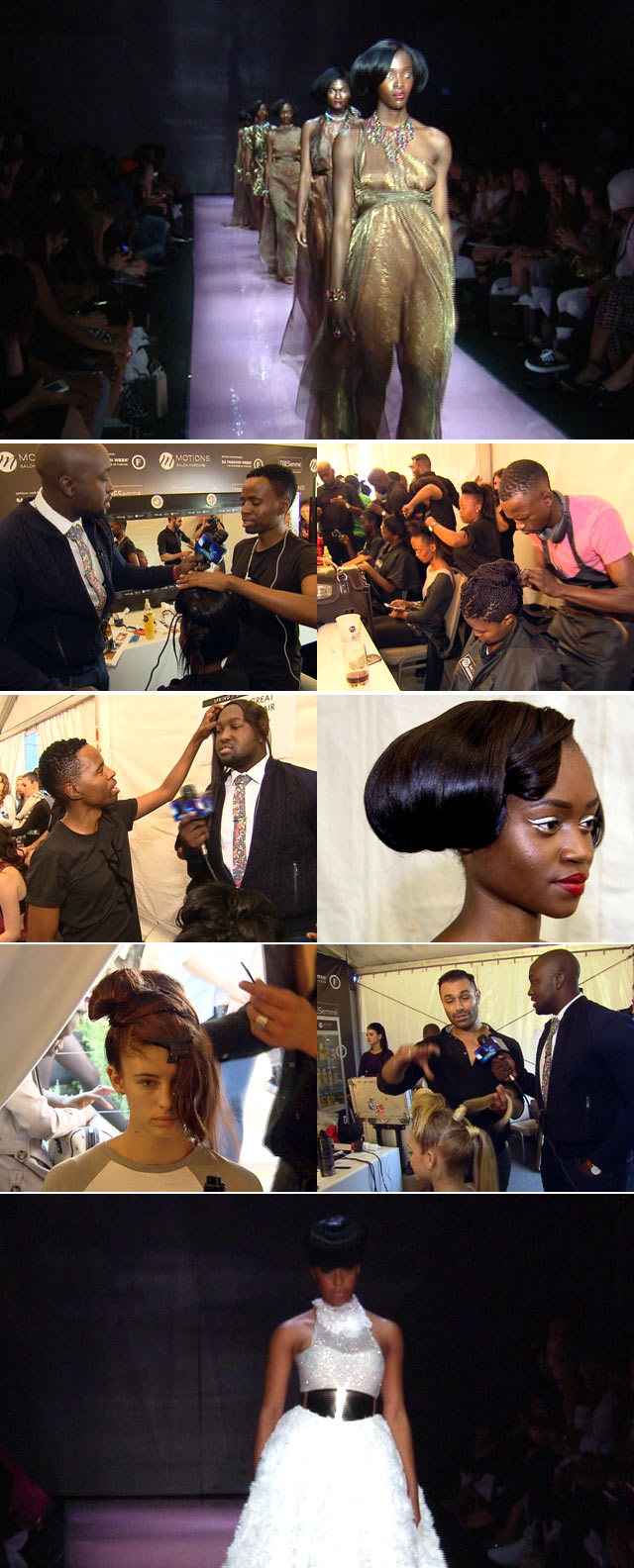 Hair trends on Top Billing