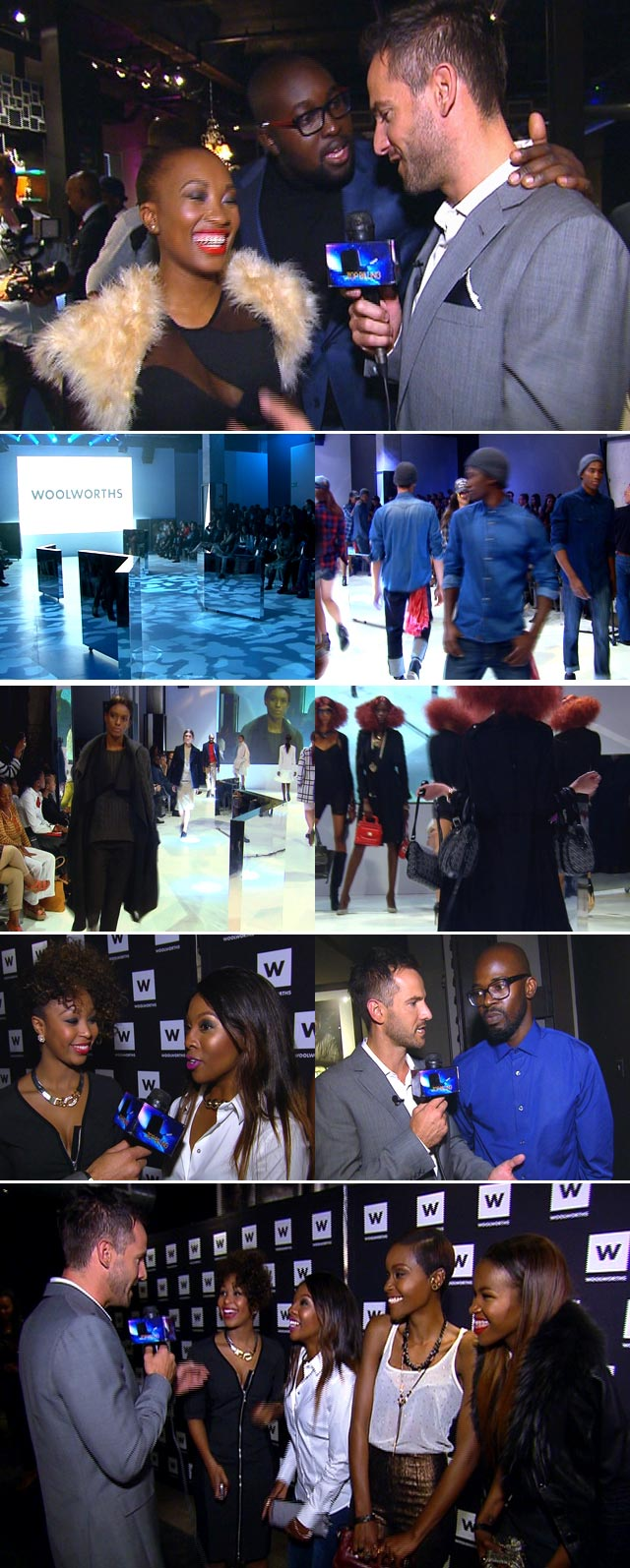 Woolworths winter fashion launch
