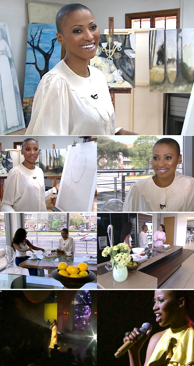 A day with Zonke Dikana on Top Billing