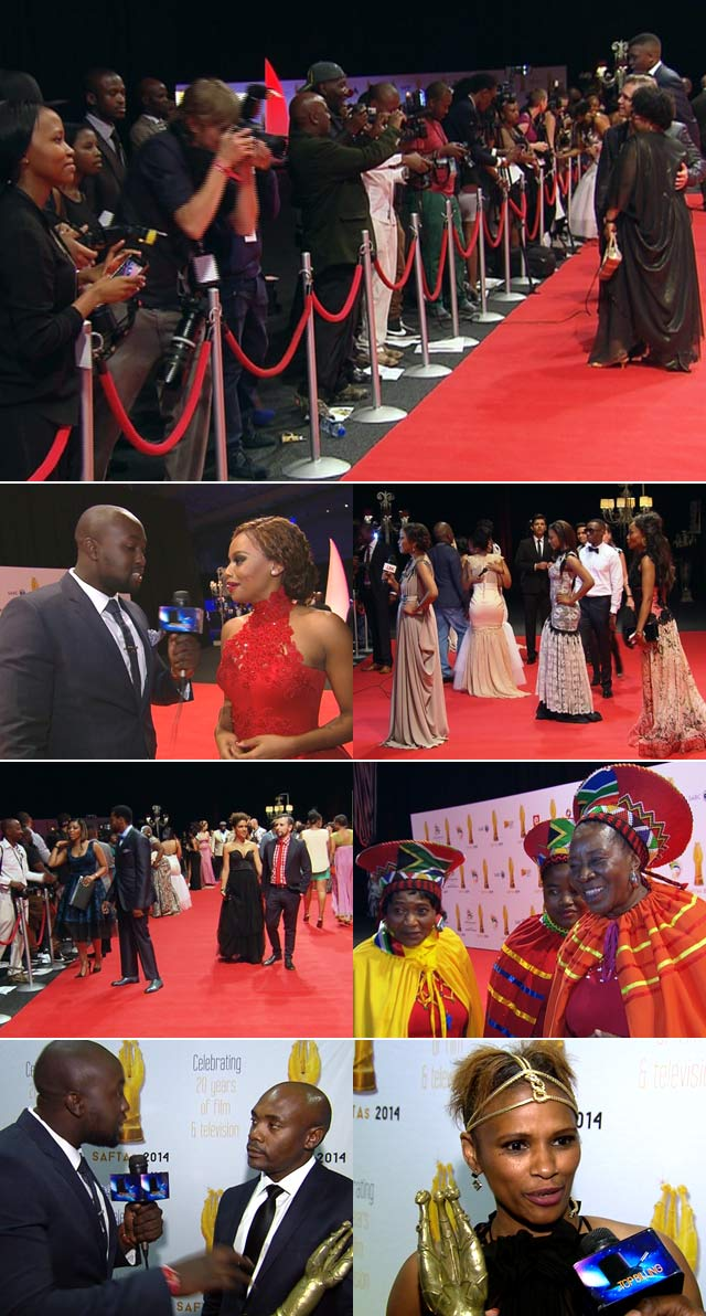 Top Billing attends the SA Film and TV Awards
