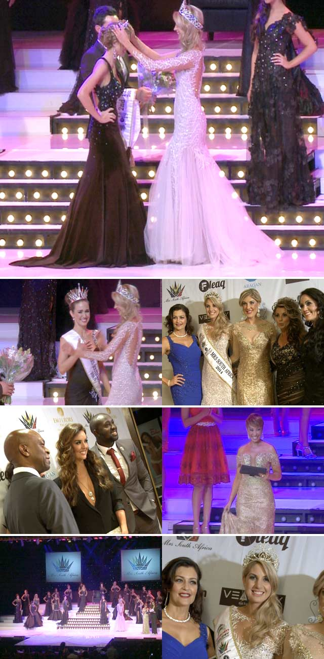 Top Billing attends the Mrs SA pageant