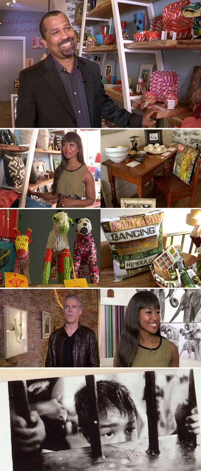 Top Billing visits a South African spot in Milan  Lorna meet the owner of a South Africa themed store in Milan, Kurt Stapelfeldt