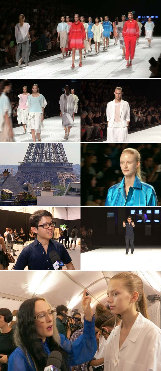 Top Billing takes you to an Issey Miyake show