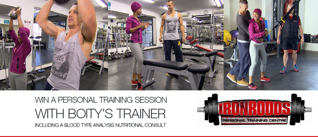 Win a training session with Boity Thulo's coach