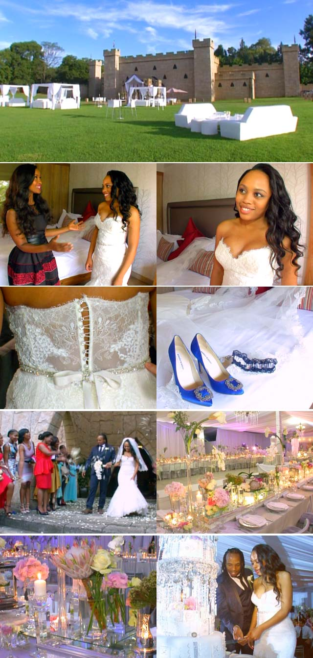 Akona Ndungane and Siyanda Stofile wedding on Top Billing