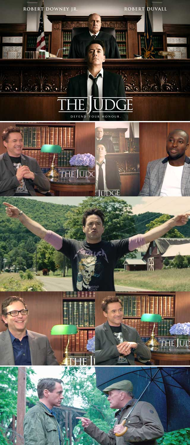 Top Billing talks The Judge with Robert Downey Jr