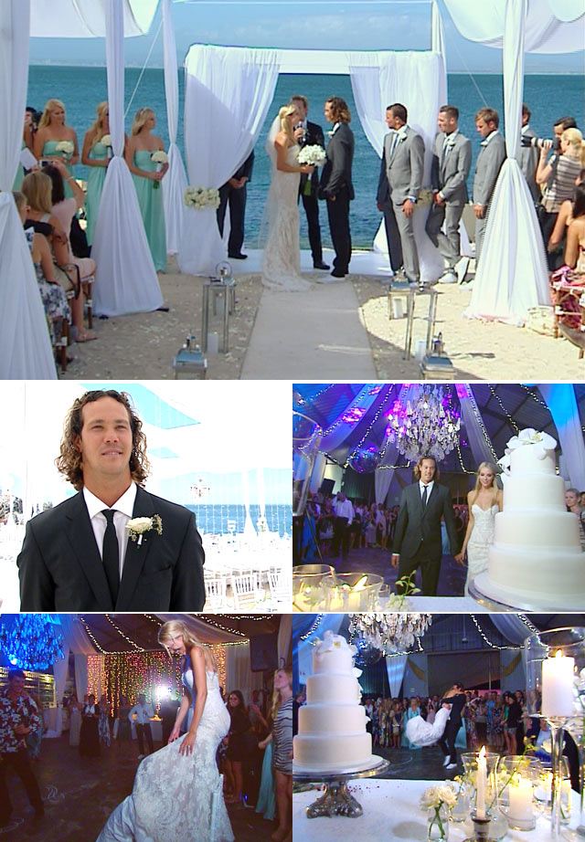 Jordy Smith and Lyndall Jarvis wedding