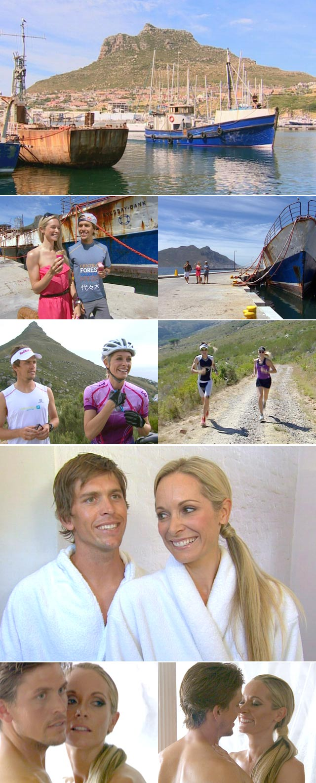 Ryan Sandes and Vanessa Haywood on Top Billing