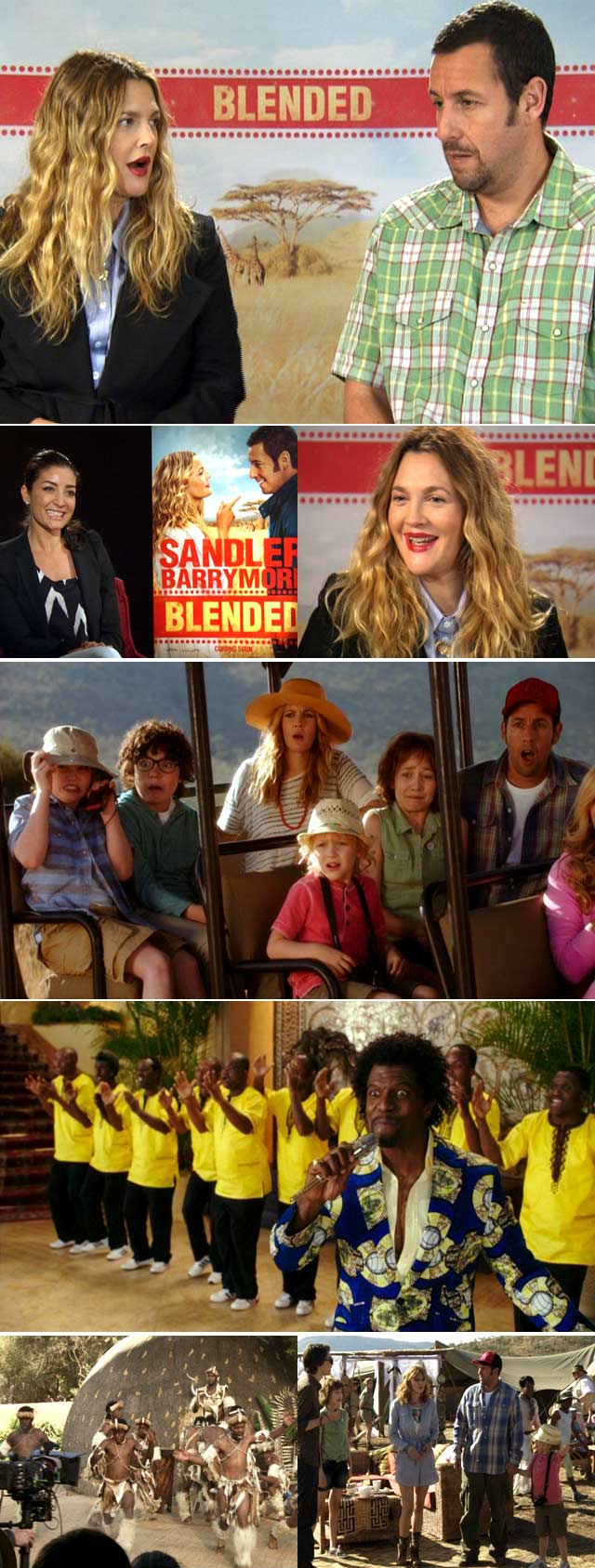 Top Billing chats Blended with Drew Barrymore and Adam Sandler