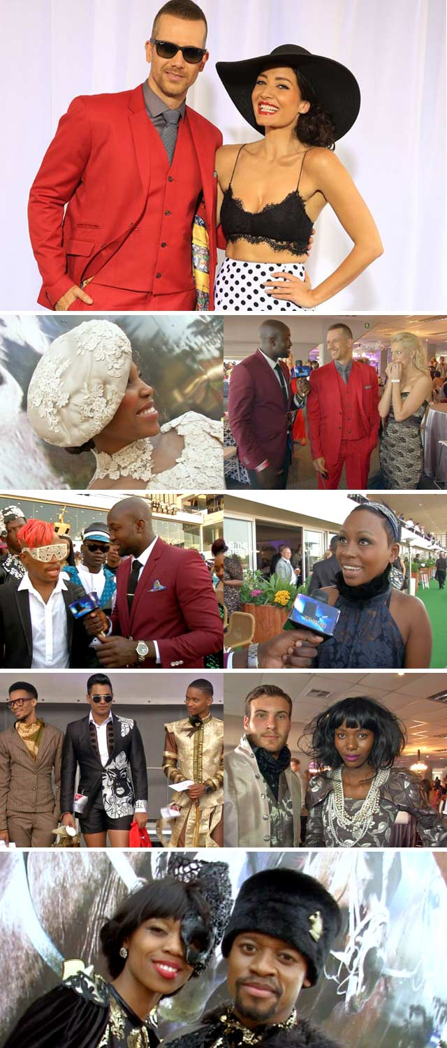 Top Billing attends the Vodacom Durban July 2014