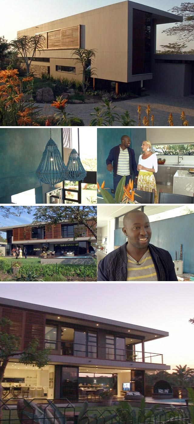 Top Billing features a tropical Durban home