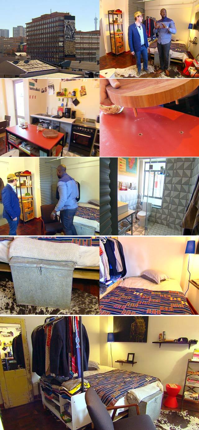 Man Cave Tv Show South Africa : Top billing visits aaron kohn s maboneng man cave