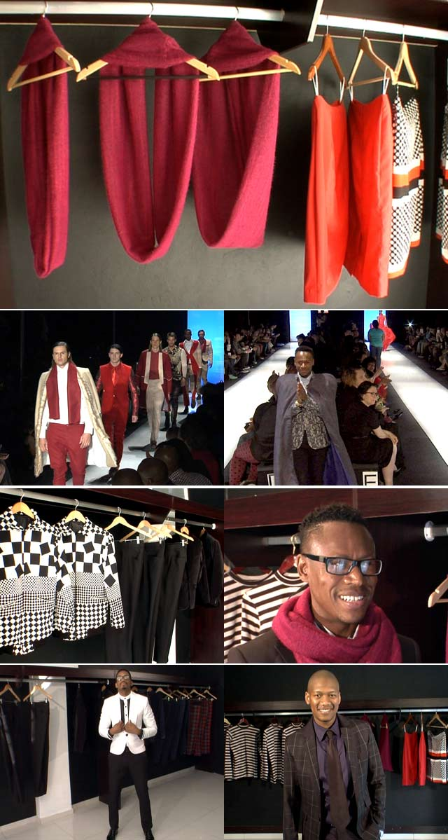 Top Billing gets inspired by designer Paledi Segapo