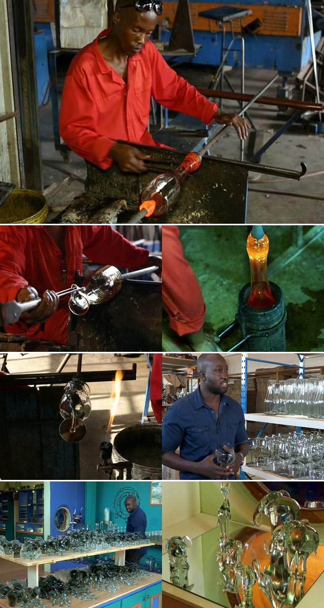 African glasswear on Top Billing