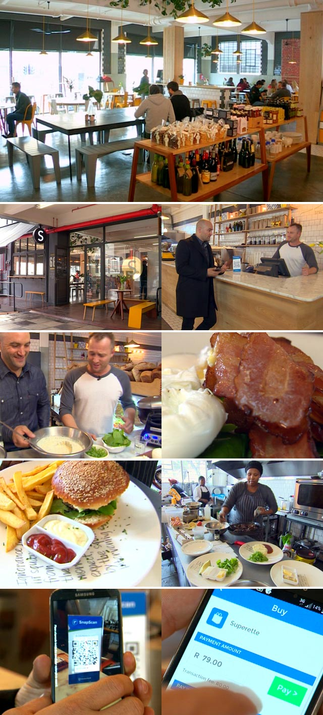 Top Billing visits the Superette Cafe