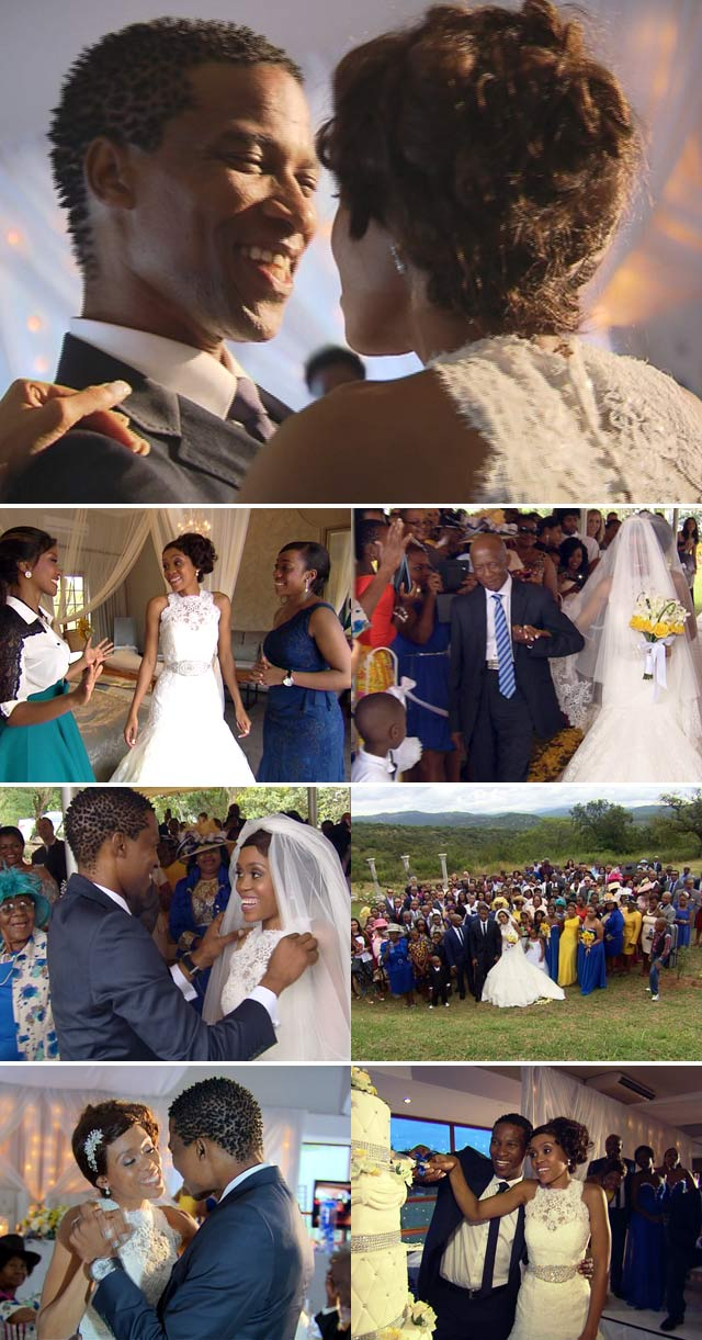 Gugu Zulu's wedding on Top Billing
