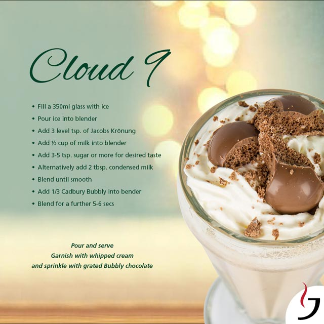Cloud 9 iced coffee recipe