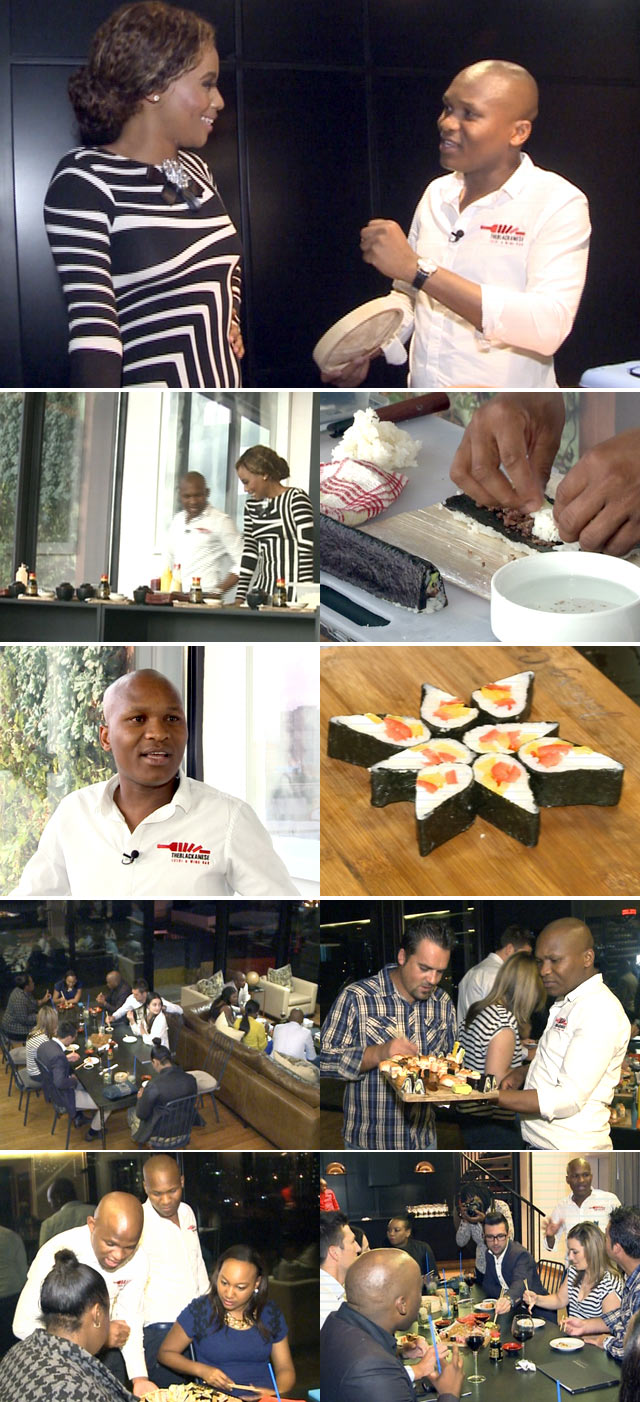Penthouse dining with Vusi Kunene on Top Billing